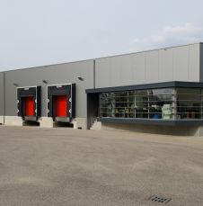 Plaza Foods: The entrance of the production facility in Nijmegen, the Netherlands.