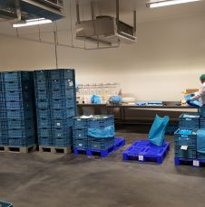 Plaza Foods: Inside the production facility in Nijmegen, the Netherlands.